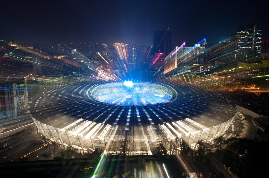 Фото открытия спортивных площадок и стадионов десять